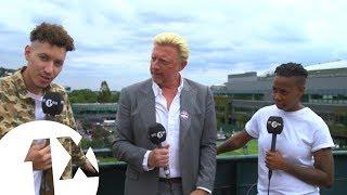 The No Wimbledon, Wimbledon Challenge with Boris Becker