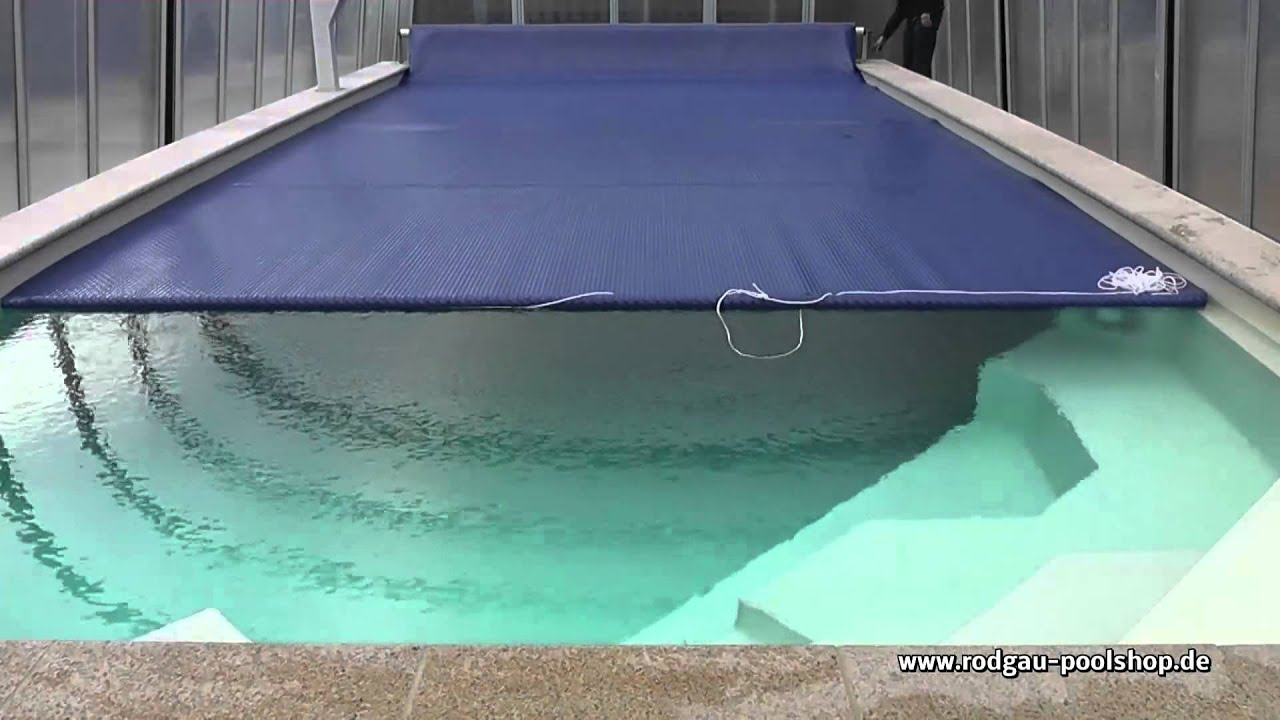 Poolheizung Solar Test Pool Solarfolie Test