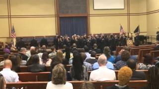 Fort Leonardwood Army Bt Graduation Ceremoney