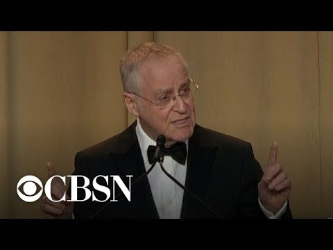 "Historian Ron Chernow praises journalists for ""noble work to preserve democracy"""