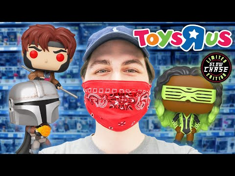 Toys R Us Funko Pop Hunting  First Day Open