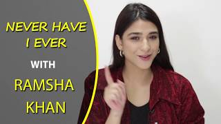 Never Have I Ever with Ramsha Khan | FHM Pakistan