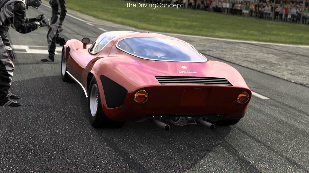 Forza 5 1968 Alfa Romeo 33 Stradale Forzavista And