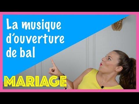 Mariage : la musique de l'ouverture de bal