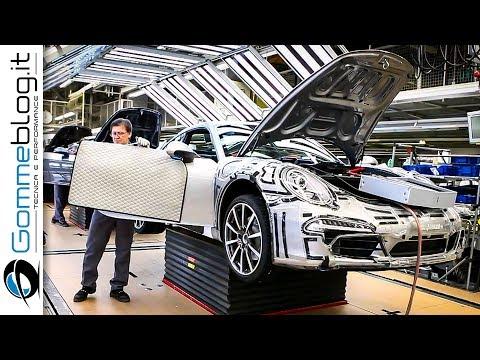CAR FACTORY: Porsche 911 HOW ITS MADE Production Plant 2017