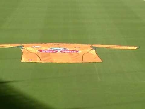 ExpandaSign South Africa Soccer Jersey at the Moses Mabhida Stadium