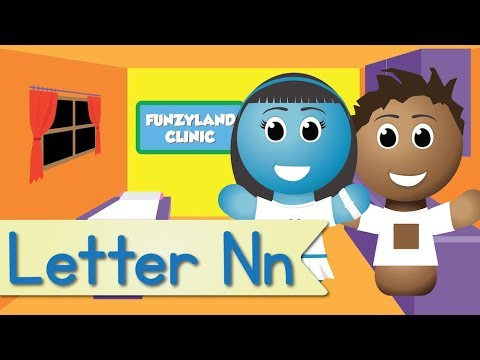 Letter N Song (Official Letter N Music Video by Have Fun Teaching)