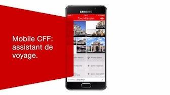 Mobile CFF: assistant de voyage.