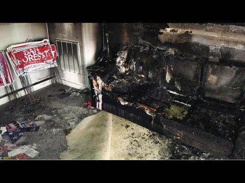 Republican Headquarters in NC Firebombed