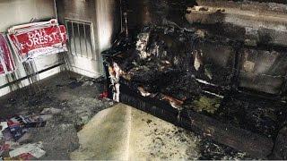 Republican Headquarters in NC Firebombed