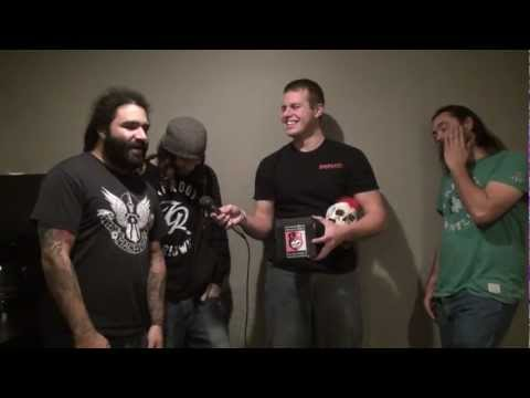 Smile Empty Soul Interview at The Waiting Room - Backstage Entertainment