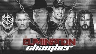 RESEFED ELIMINATION CHAMBER 2019 | FULL PAY PER VIEW HD | LIVE STREAM | WWE 2K19