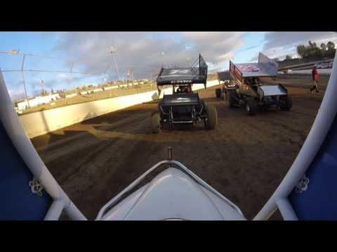 Skagit speedway heat race (Gopro) 8/27/16