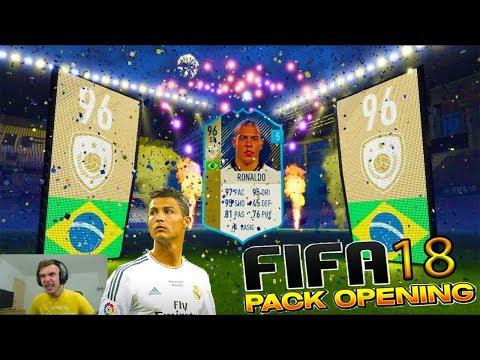 Super Fifa 18 Pack Opening - Cristiano Ronaldo & Ronaldo Luis Nazário de Lima