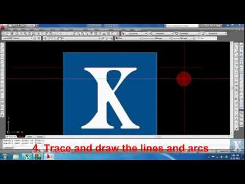 Logo Design By Autocad Youtube
