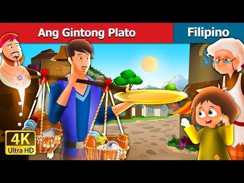Ang Gintong Plato | Kwentong Pambata | Filipino Fairy Tales
