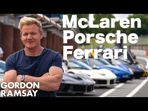 Is Gordon Ramsay The Next Lewis Hamilton?
