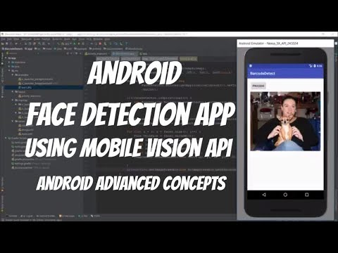 Using Google Mobile Vision API | Build a Face Detection App in Android