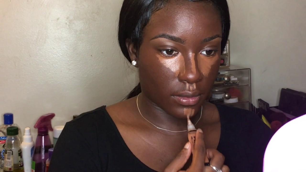 Download Fall Makeup Tutorial for Dark Skin | Highlighting & Contouring