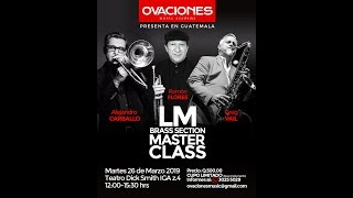 LM BRASS SECTION MASTER CLASS (1/3)