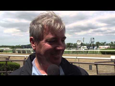 Post Race Interview - Astoria with Wesley Ward
