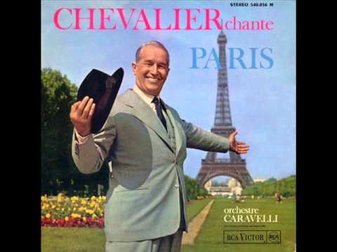 Maurice Chevalier - I Love Paris