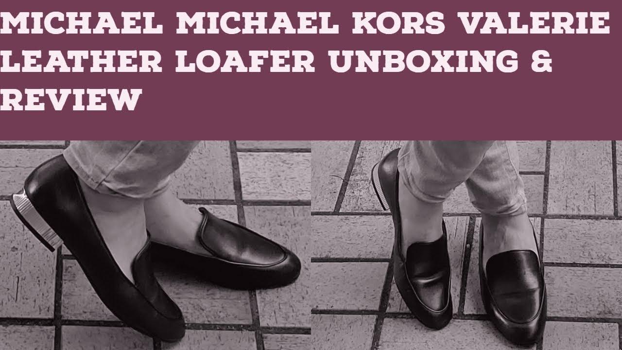 MICHAEL KORS Valerie Leather Loafer I