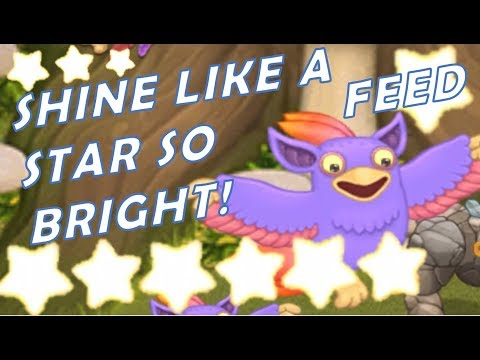 OMG! Feed Minimum Level 20 To Shine Bright Like A Star On Your Tribal Island - My Singing Monsters