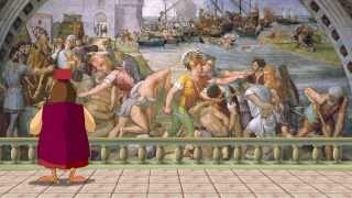 Сказки картинной галереи - Рафаэль Санти (57 серия) (Уроки тетушки Совы)