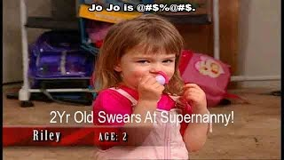 2 Yr Old Swears At Supernanny! | Supernanny