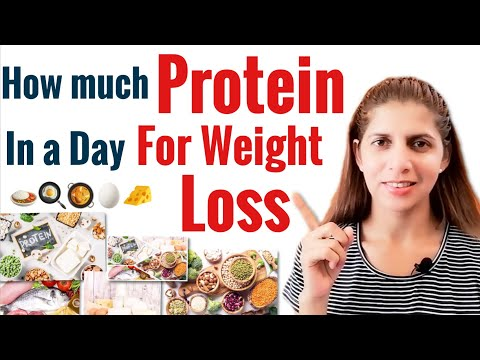 Protein for Weight Loss | How Much to Eat in a day | Important tips and sources | Side Effects