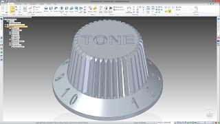 SOLID EDGE ST8 - HOW TO CERATE 3D TEXT IN MODEL