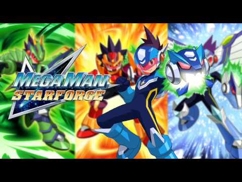 Mega Man Star Force OST - T10: Cyber World (Comp Space ...