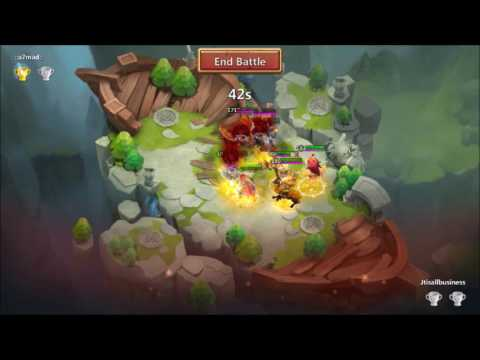 Lost BattleField Climbing The Ranks Plus Ninja Arena Castle Clash