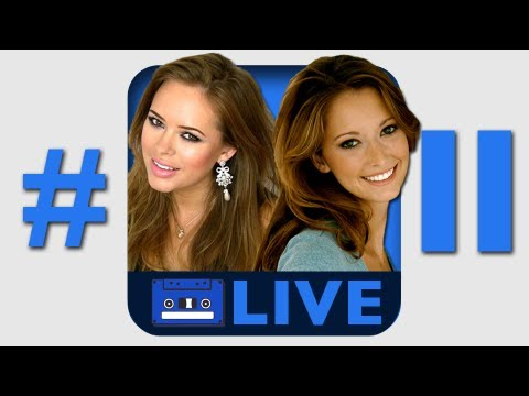 Tanya Burr & Taryn Southern on MyMusic LIVE! (Taped 6/25/12)