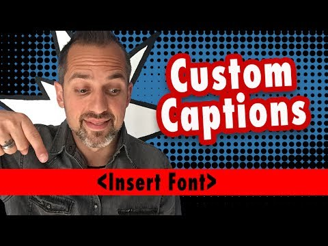 How to Add CaptionsSubtitles to a video file permanently Camtasia Tutorial