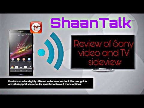 Review Of Sony Video And TV Sideview Remote App With Supported Device List