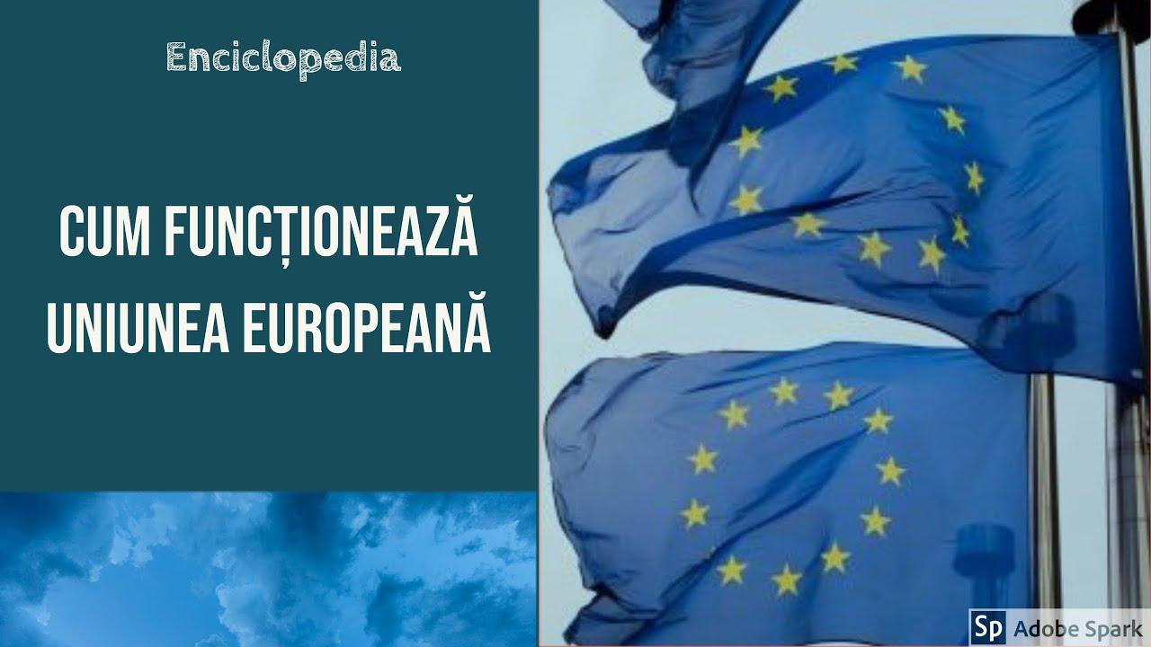 Cum funcționează Uniunea Europeana