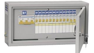 Так делают распределительный щит(Электрический щит, щиток — устройство, предназначенное для приема и распределения электрической энергии..., 2014-07-29T05:00:03.000Z)