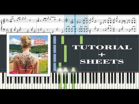 You Need To Calm Down - Taylor Swift [Piano Tutorial] thumbnail