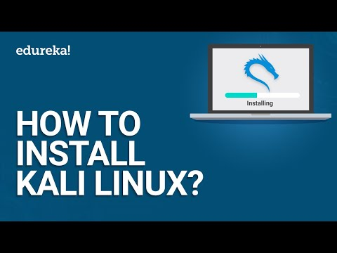 How to install Kali Linux? | Kali Linux Tutorial | Cyber Security Training | Edureka