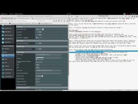 How to set dodo go hub 2 NBN modem router to Bridge MODE