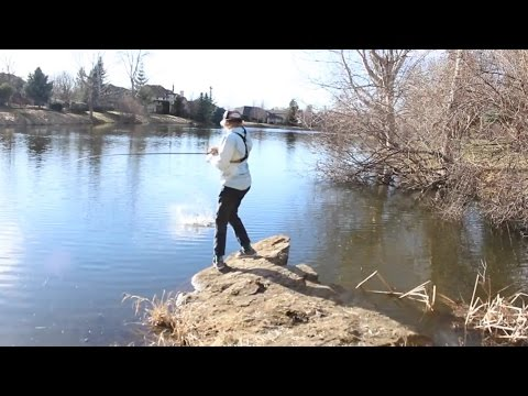 Early Spring Pond Fishing
