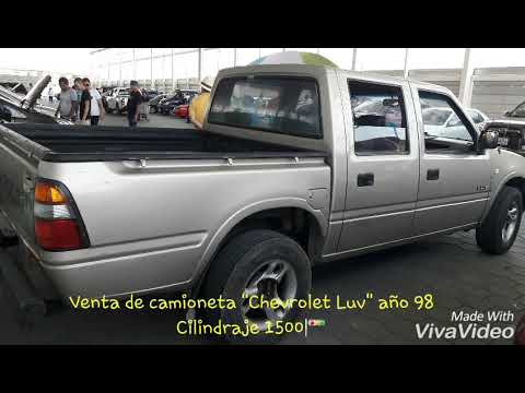 Venta De Camioneta Chevrolet Luv 98 Youtube