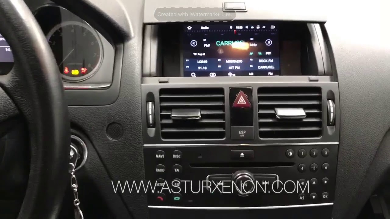 AX-H5704 Equipo multimedia ANDROID para Mercedes C W204