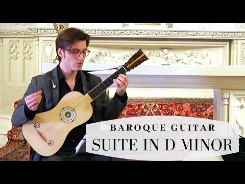 Visée_Suite in D minor_On Baroque Guitar