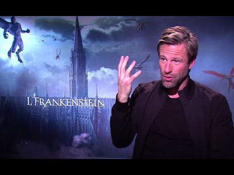 Aaron Eckhart Interview - I, Frankenstein (HD) JoBlo.com Exclusive