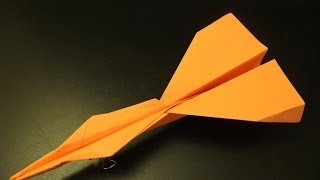 How To Make The Simple Fastest Paper Plane Origami Ever: Instruction| Jaguar