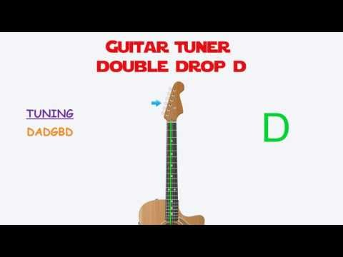 Guitar Tuning - Double Drop D