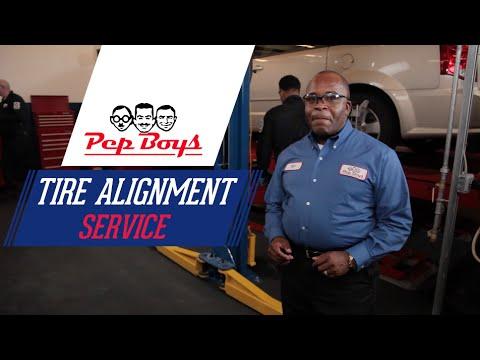 Tire Alignment - Pep Boys